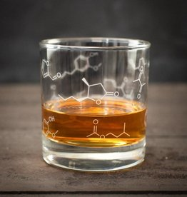 Cognitive Surplus Lowball Glass - Chemistry of Whiskey