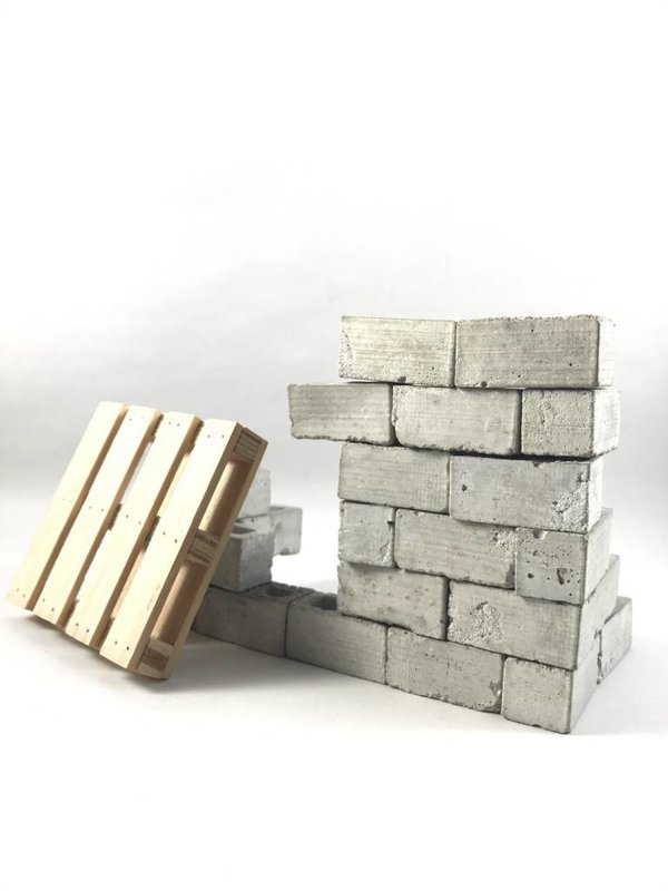 Miniature Cinder Blocks