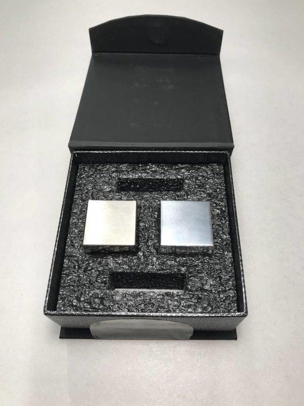 Tungsten + Aluminum Density Cubes