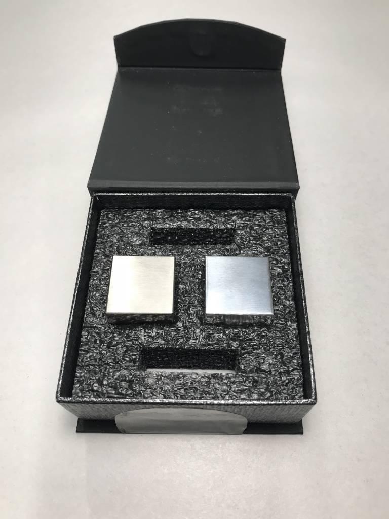"Tungsten + Aluminum 1"" Density Cube Set"