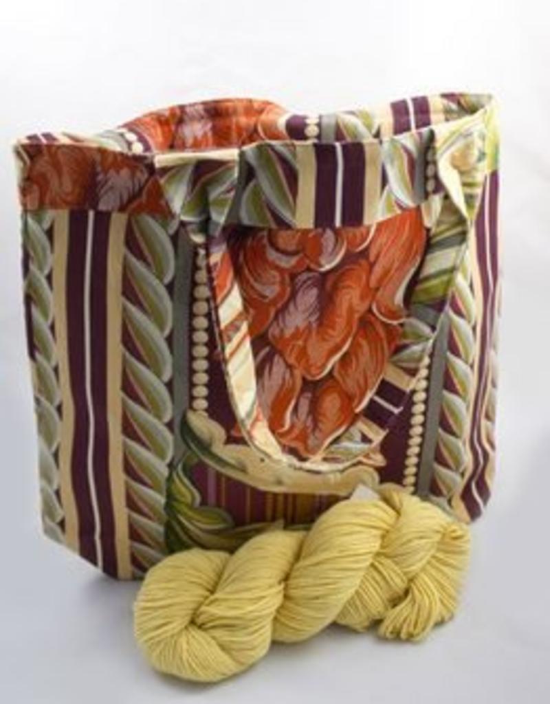 Sac de tricot messenger bag