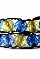 Bracelet compteur 2 rangs