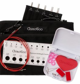 ChiaoGoo Twist Mini Stainless Steel Lace Set