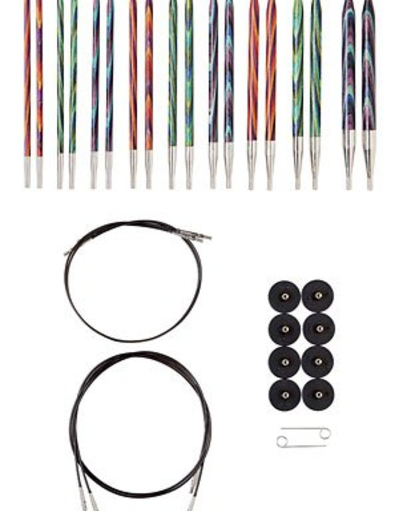 KnitPicks Kit interchangeable Mosaic wood