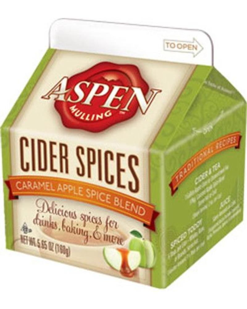 ASPEN MULLING COMPANY ASPEN MULLING COMPANY 5.65 OZ CARTON MULLING SPICES, DRINK MIXES, VARIOUS FLAVORS