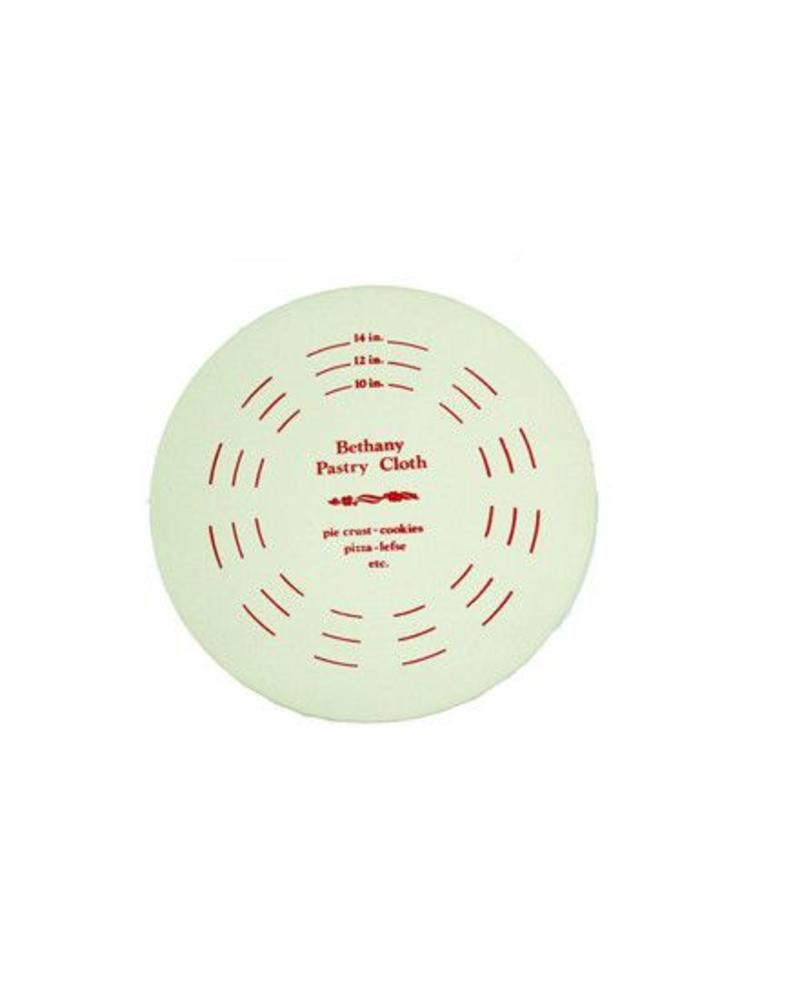 BETHANY HOUSEWARES BETHANY HOUSEWARES PASTRY BOARD SET, 19 IN HARDBOARD CIRCLE AND BOARD COVER | 500