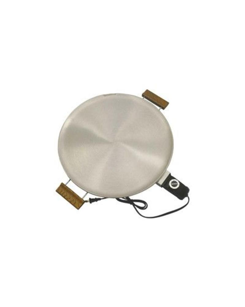 BETHANY HOUSEWARES BETHANY HOUSEWARES ROUND ELECTRIC GRIDDLE, LEFSE GRILL