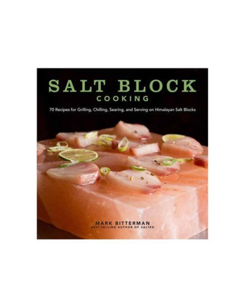 ANDREWS MCMEEL SALT BLOCK COOKING COOKBOOK | 9781449430559