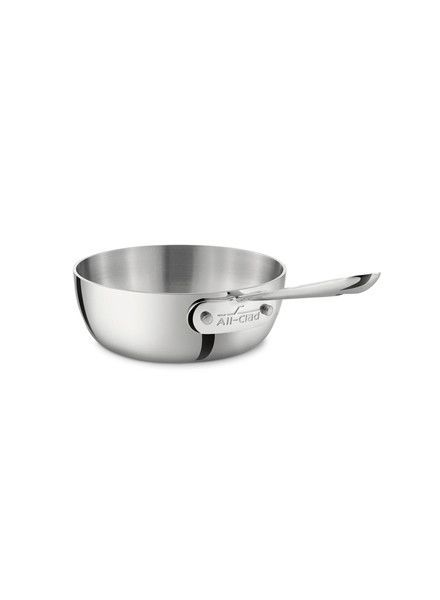 All-Clad Stainless Steel 1-Quart Saucier Pan
