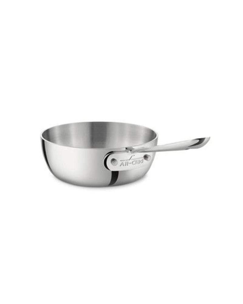 ALL-CLAD ALL-CLAD 1 QUART STAINLESS STEEL SAUCIER PAN |