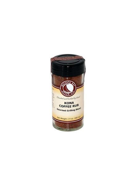 Wayzata Bay Spice Company Kona Coffee Rub
