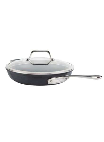 All-Clad Stainless Steel Fry Pan With Lid