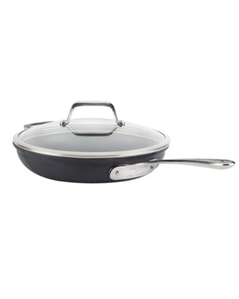 ALL-CLAD ALL-CLAD FRY PAN WITH LID, TRI-PLY STAINLESS STEEL