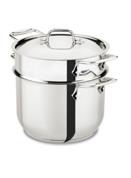 ALL-CLAD 6 QUART PASTA POT STAINLESS STEEL