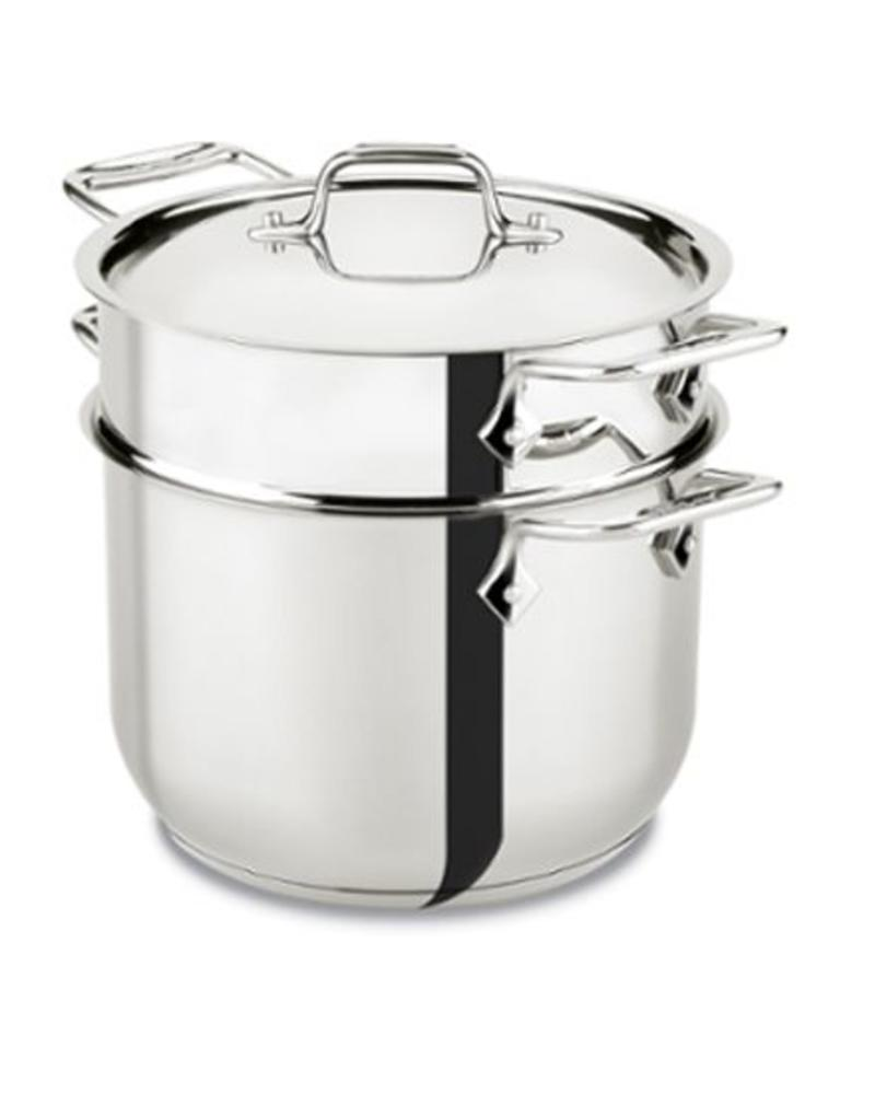 ALL-CLAD ALL-CLAD 6 QUART STAINLESS STEEL PASTA POT | E414S664