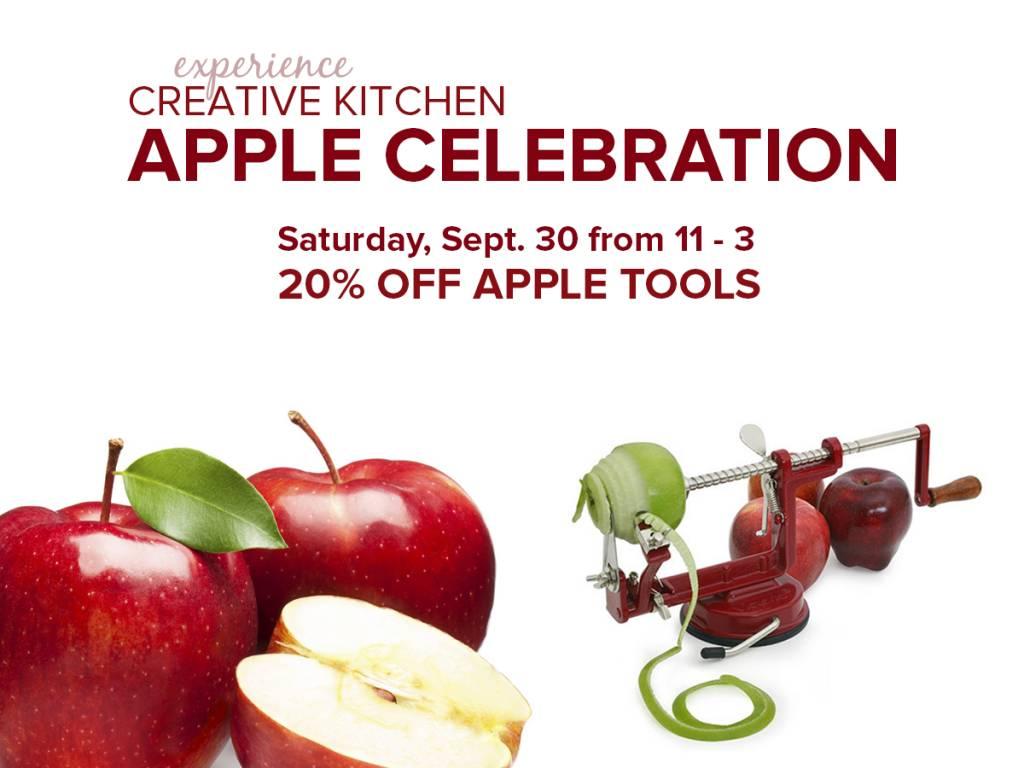 Sept. 30 - Apples Galore!