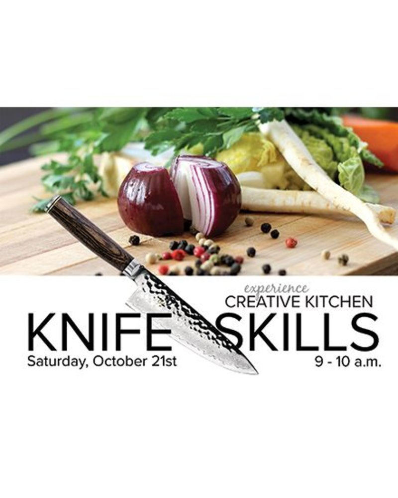 CREATIVE KITCHEN OCT 21 2017 - KNIFE SKILLS - SHUN