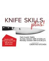 CREATIVE KITCHEN KNIFE SKILLS PLUS WITH DENNIS EPSTEIN