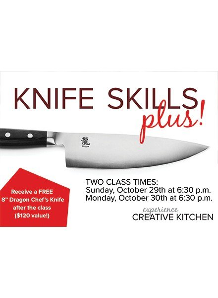 CREATIVE KITCHEN KNIFE SKILLS PLUS WITH DENNIS EPSTEIN
