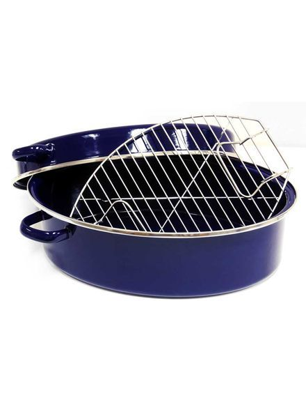 Chantal Enamel-on-Steel Roaster 11-Quart