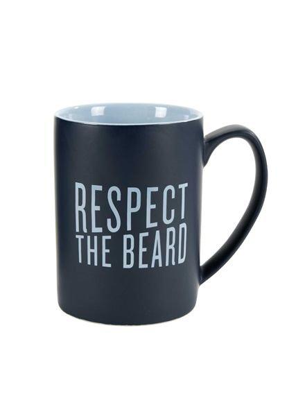 "C.R. Gibson ""Respect the Beard"" Mug"