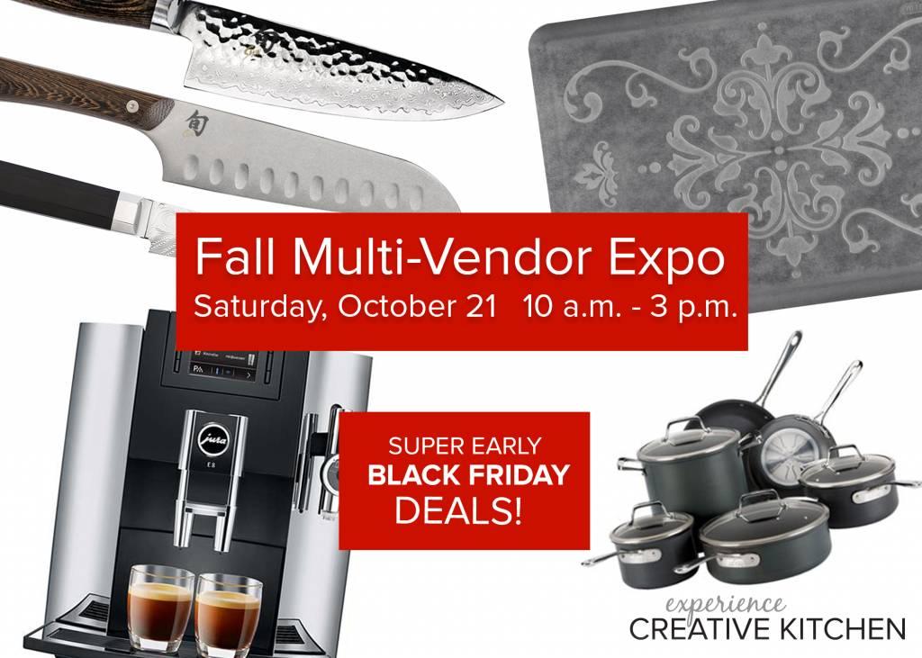Fall Multi-Vendor Expo!