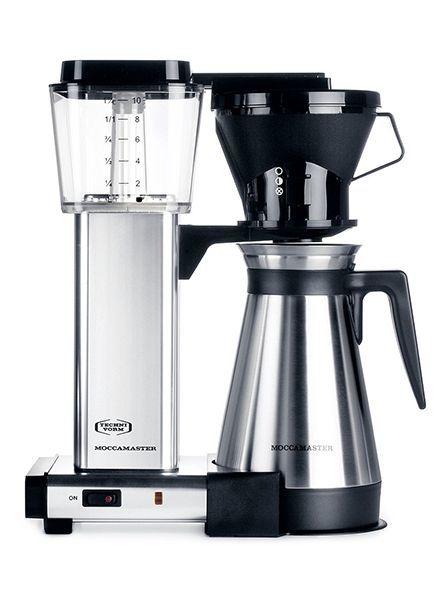 Moccamaster Moccamaster KBT Polished Silver Manual Adjust Drip Coffee Brewer