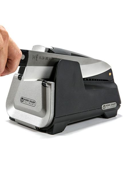 Work Sharp Culinary E3 Knife Sharpener with Honing Tool