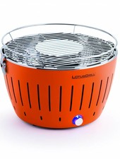 Lotus Grill Smokeless Grill Portable Trailbreaker GT - Mandarin Orange