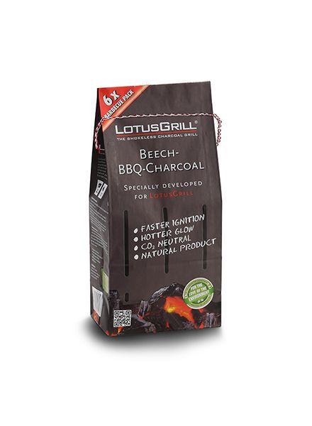 Lotus Grill Beechwood Natural Charcoal 2.2 Bag