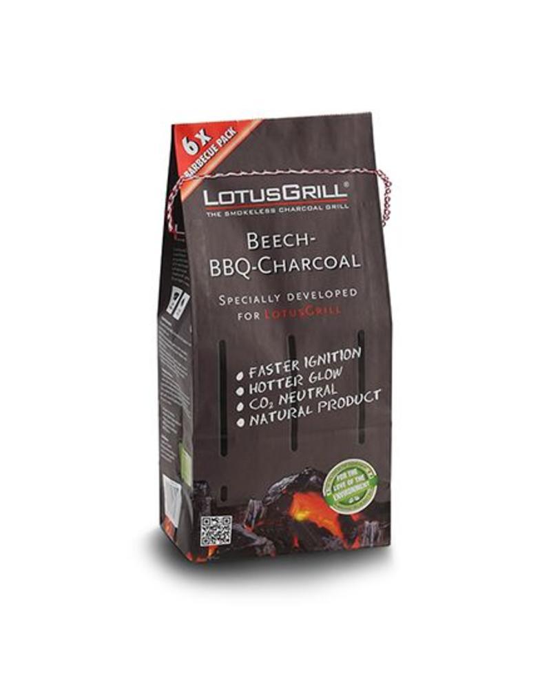 Lotus Grill Beechwood Natural Charcoal 2 Bag