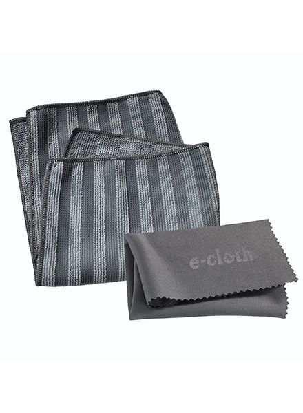 E-Cloth Stainless Steel Cleaning Cloths 2-Pack