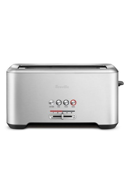 Breville Bit More 4-Slice Toaster Stainless Steel