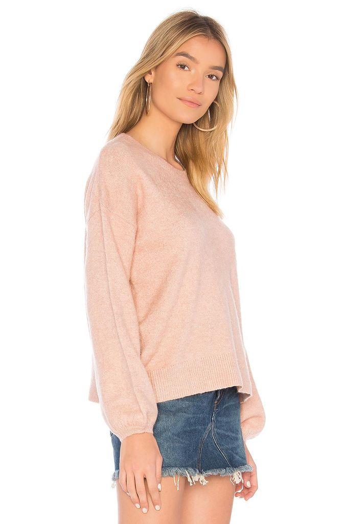 Mink Pink Blouson sleeve jumper