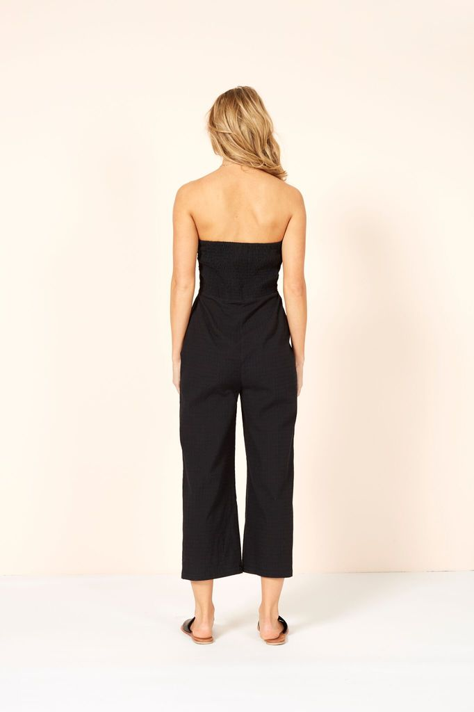 Mink Pink Say it right strapless jumpsuit