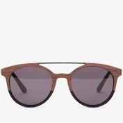 Sunglasses w/silver detail frame