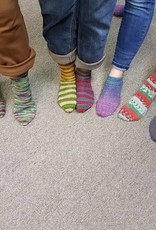 Two Socks At A Time: Toe Up