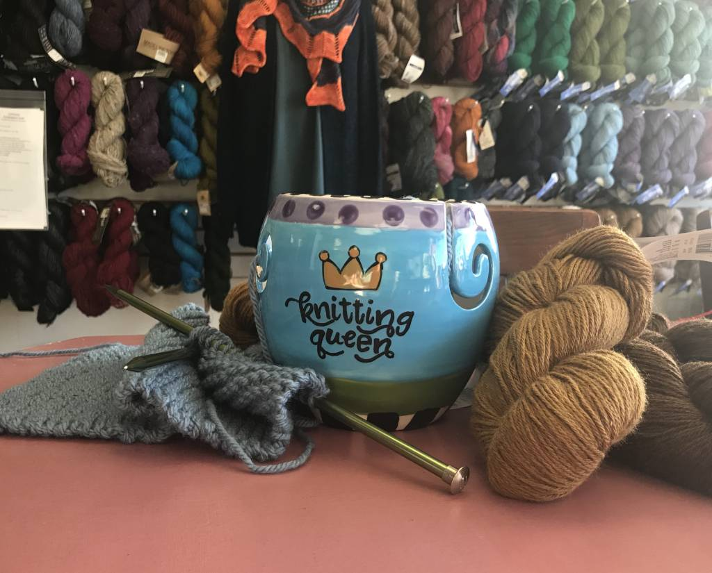 Paint Your Own Yarn Bowl: Large