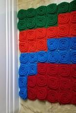 Crochet bath mat/rug
