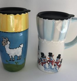 Paint Your Own Travel Mug: