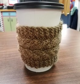 Cabled Mug / Cup Cozy