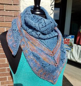 Knit One Crochet Too High Chaparral Shawl (Pattern)