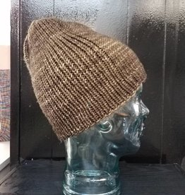 Asymmetrical Ribbed Hat