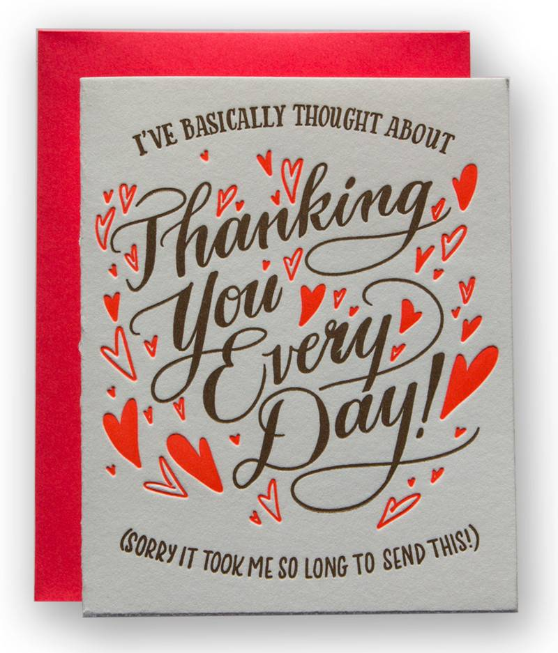 Thanking You Every Day Card