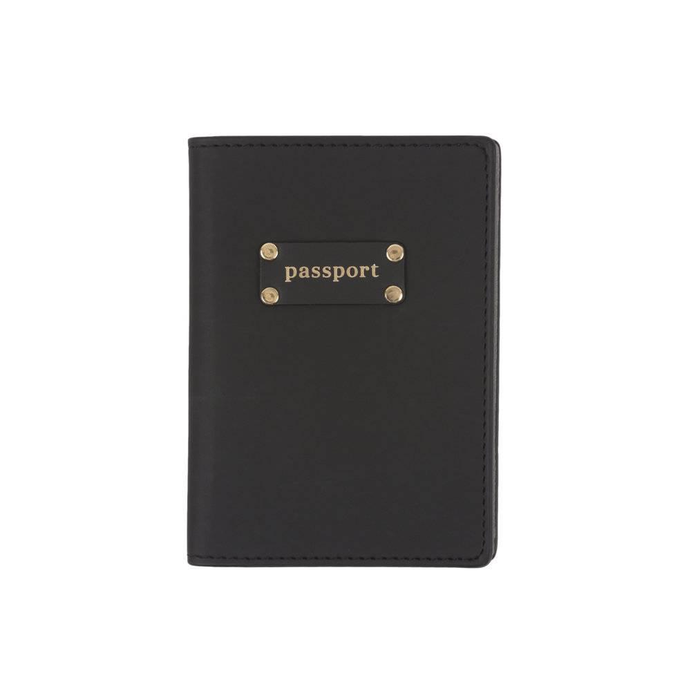 Black Passport Case