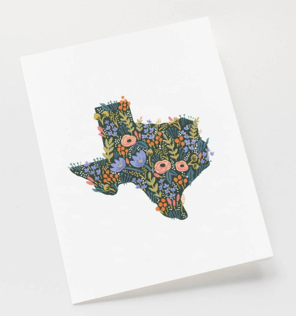 Set of Texas Wildflowers Card