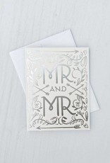 Mr. and Mr. Silver Foil Card
