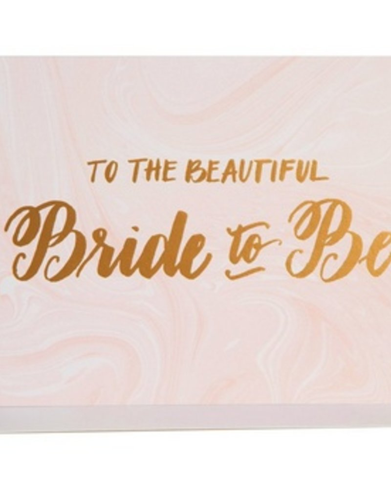 Bride-To-Be Marble Card