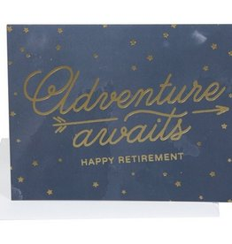 Adventure Awaits Retirement Card