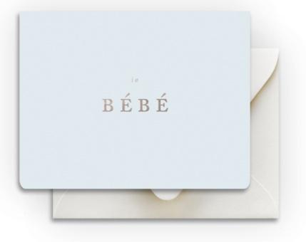 Bebe Boy Card